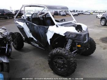 Salvage Polaris Rzr